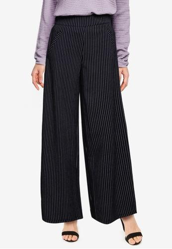 JACQUELINE DE YONG navy Louisville Catia Wide Pants CD3F5AA661E600GS_1