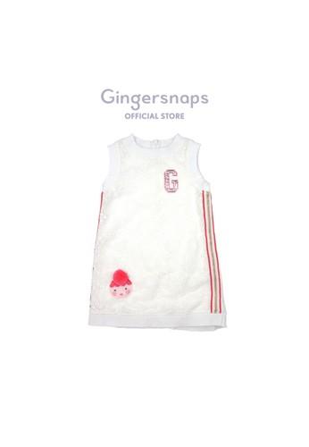 Gingersnaps multi Kokeshi Land Dress Offwhite E6E37KA26F3C85GS_1