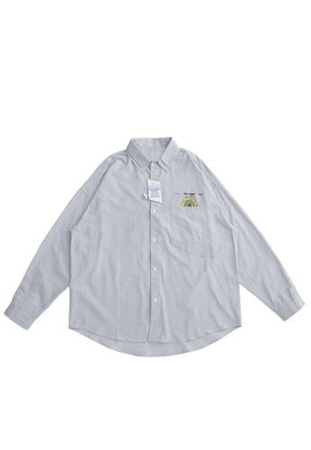 Twenty Eight Shoes Loose Double Collar Printed Shirt 2090W20 D4564AAAB59D6DGS_1