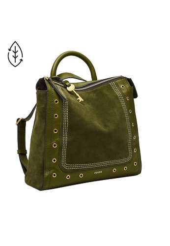 Fossil green Parker Backpack 071A4ACB12956DGS_1