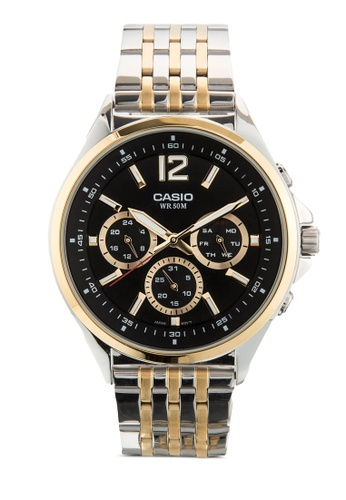 Casio multi Casio Enticer Analog Black Dial Men's Watch - MTP-E303SG-1AVDF CA843AC45MHUMY_1