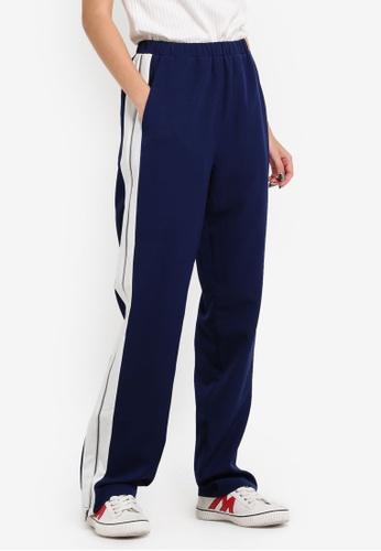 Something Borrowed navy Side Zip Through Pants 5E5E2ZZ82B666BGS_1
