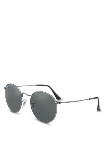 Ray-Ban grey Icons RB3447 Sunglasses 800C6GL63EF416GS_1