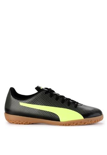 Puma black Puma Spirit IT Shoes 523E1SH30DE2EBGS_1