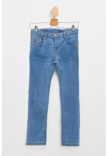 DeFacto blue Boy Denim Trousers 9FE69KAD5B92AEGS_1
