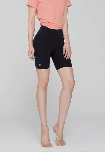 xexymix black Juno Biker Shorts 3.5 in Noir 7F0F7AAC388969GS_1