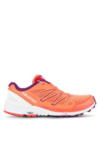 Salomon orange and multi Sense Marin Shoes SA438SH24WDFMY_1