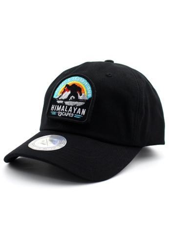 DOSSCAPS black FLIPPER Himalayan Patch Baseball Cap 19E28ACB6E2FC8GS_1