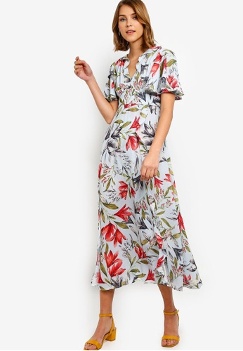 2515be342e7b9 Buy French Connection Cadencia Crepe Maxi Dress | ZALORA HK