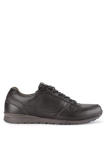 Lois Jeans brown Leather Shoes 7449ESH72D687EGS_1