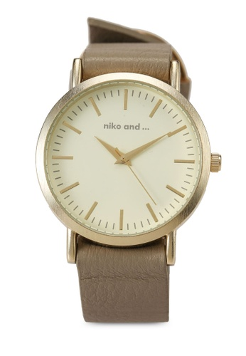 niko and ... grey Analogue Casual Watch 1D324AC5461397GS_1