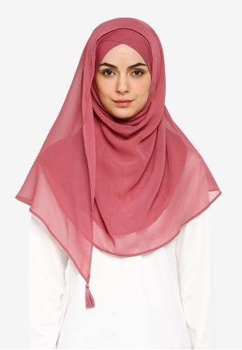 Bokitta pink Raspberry Instant Hijab 4E6CFAA670F3AFGS_1