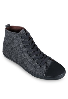 WT - High Top Felt Sneakers