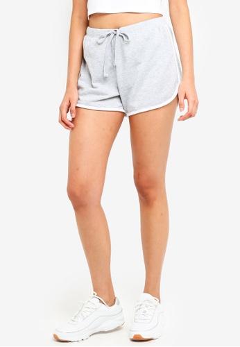 Supre grey Basic Sweat Shorts 573E0AA5391C55GS_1