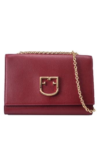 Furla red Viva Pochette Crossbody Bag 3C879ACF06A9ADGS_1