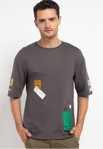 XXMAKE grey XXC119 Dark Gray T-Shirt Pria 744EEAA5336C96GS_1