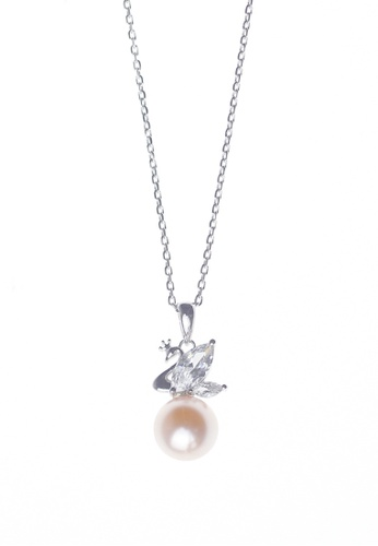 The LoveMark silver Glykeria Silver Necklace TH516AC06MYRPH_1