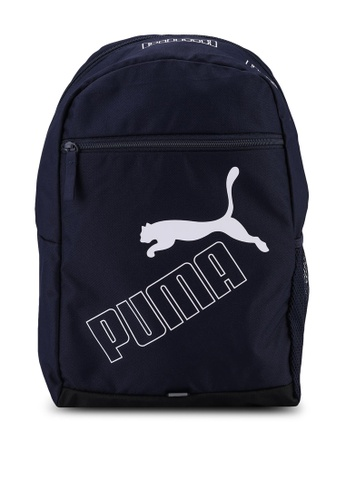 PUMA navy Phase Backpack II DA91CAC3EA2D5FGS_1
