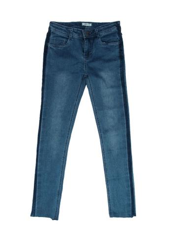 FOX Kids & Baby blue Side Stripe Denim Jeans 05246KAD1561F7GS_1