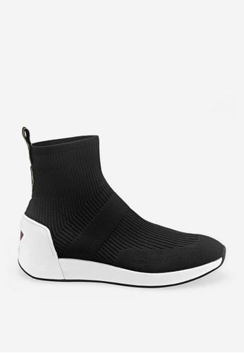ASH Jamie - Black Mesh weaving Sneaker BD3F6SH05310F0GS_1
