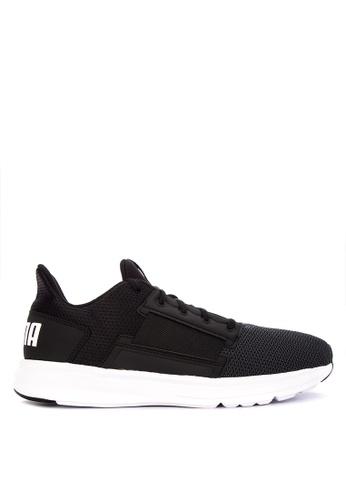 Puma black Enzo Street Training Shoes B23ADSH953ECA9GS_1