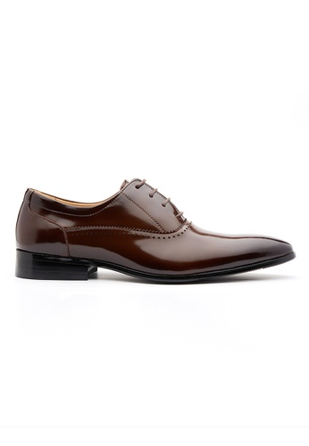 Kings Collection brown Sergio Derbies Shoes CB298SHAFE7801GS_1