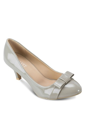 Carrie 蝴蝶結漆面高跟鞋, 女鞋zalora 男鞋 評價, 厚底高跟鞋