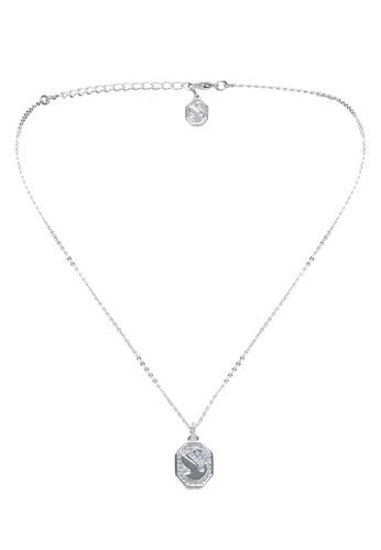 Swarovski white Signum Pendant Necklace AF8F1AC6944255GS_1