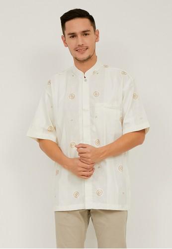 Woffi beige Baqa Koko Shirt 8DC1AAA028E363GS_1