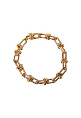 SKEDA gold Refined Chain Series Bracelet 6CBD0ACB177635GS_1