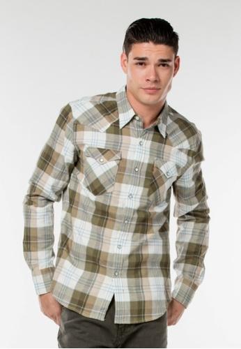 Levi's multi Barstow Western Shirt LE843AA0FWOVSG_1