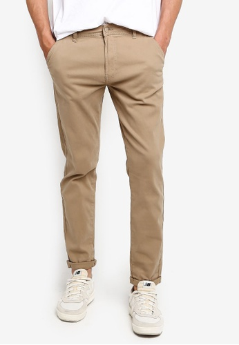 Factorie 多色 Washed Slim Leg Pant 27FD6AADEB273BGS_1
