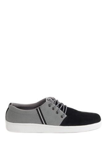 Sogno grey Sepatu Sneakers Pria - LAY 453  A3860SHFF826D0GS_1