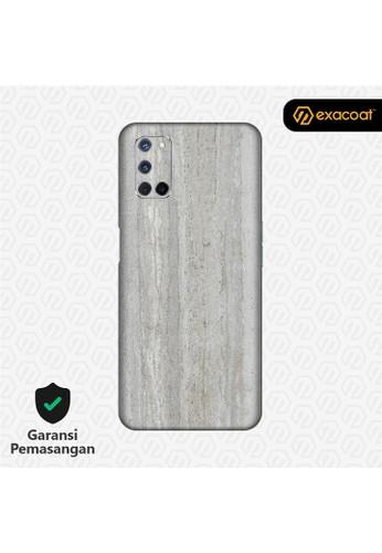 Exacoat Oppo A52 / A92 3M Skins Stone Series - Concrete E420AESEF7EC01GS_1