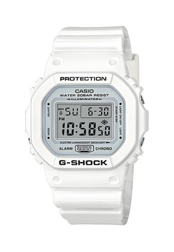 G-shock white CASIO G-SHOCK DW-5600MW-7 E582BAC1C23030GS_1