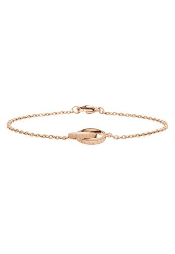 Daniel Wellington gold Elan Unity Bracelet Rose Gold 175mm E30ABAC067F62DGS_1