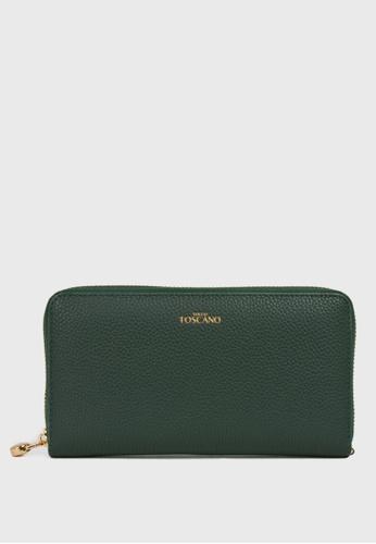 Tocco Toscano green Aimee Long Wallet (Green) 99FE4ACBA0C3A8GS_1