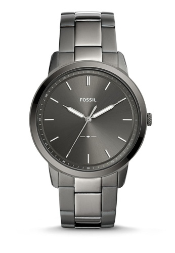 Fossil grey The Minimalist 3H Analog Watch FS5459 EE273AC8921EA5GS_1