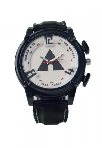 Stylebox black and white 1065 New Silicon Strap Watch A358BAC5BD1AEDGS_1