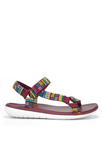 Twenty Eight Shoes red EVA Waterproof  Sandals JD16 8A05CSH0367D35GS_1