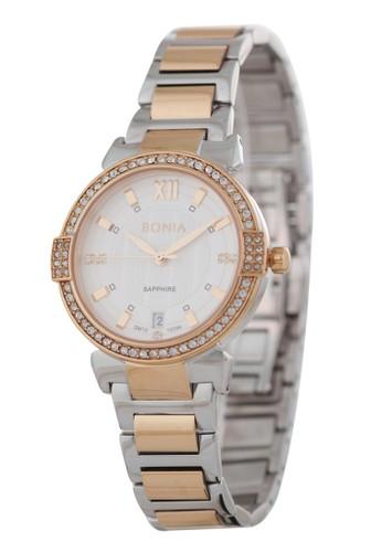 Bonia silver Bonia BP10396-2613S - Jam Tangan Wanita - Silver Rosegold 56ABDAC68FE96FGS_1