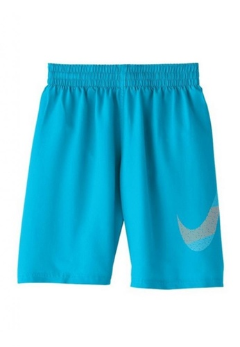 "Nike Swim blue Boys 8"" Volley Short 0F75CKA23D9BB0GS_1"