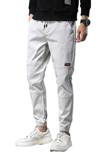 Trendyshop white Skinny Jogger Pants EAB5AAA9061C3CGS_1