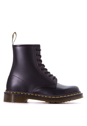 Dr. Martens black 1460 Smooth Boots DR086SH83LCIPH_1