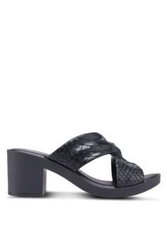 Melissa Python Heel Baja East Ad 粗跟鞋