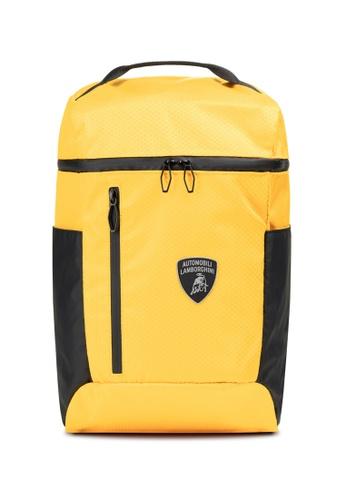 Lamborghini yellow Automobili Lamborghini® Galleria Yellow Backpack 1956EAC4D8EC6AGS_1