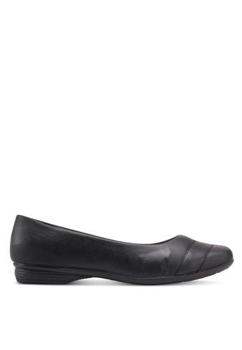 Bata black Aava Flats C47CESHA5007E8GS_1