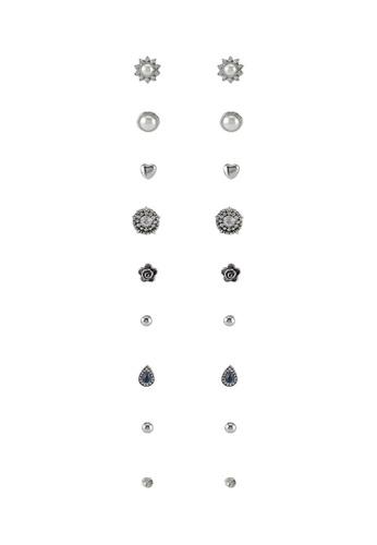 Red's Revenge blue Z55 Assorted Earrings Set RE144AC0SSVEMY_1
