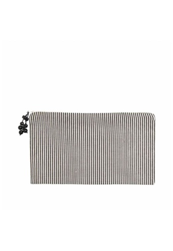 Stylodeco Clutch, Black and White Stripes, L B7B0AAC48ECD29GS_1