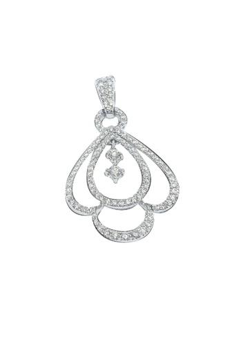 GOLDHEART GOLDHEART Pendant of Pulchritudinous Droplets in Splendour, Diamond White Gold 750 (DP0100008) 1C507AC5006A6BGS_1